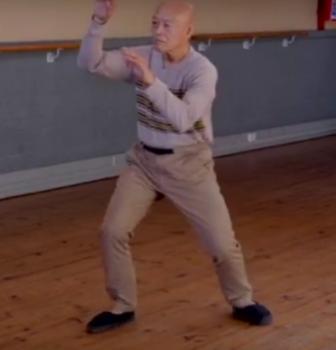 Tai Chi form demonstration